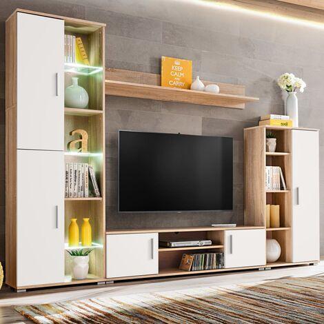 meuble tv suspendu a prix mini