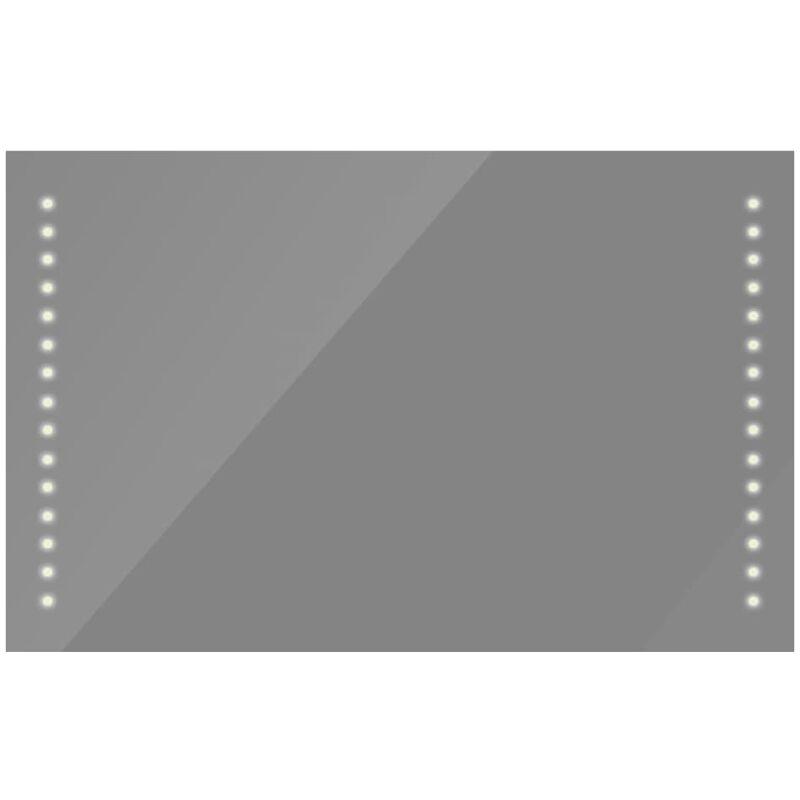 Foram Beau Miroir Salle De Bain Lumineux Led Interrupteur Tactile 80 X 60 Cm Decoration De La Maison Miroirs