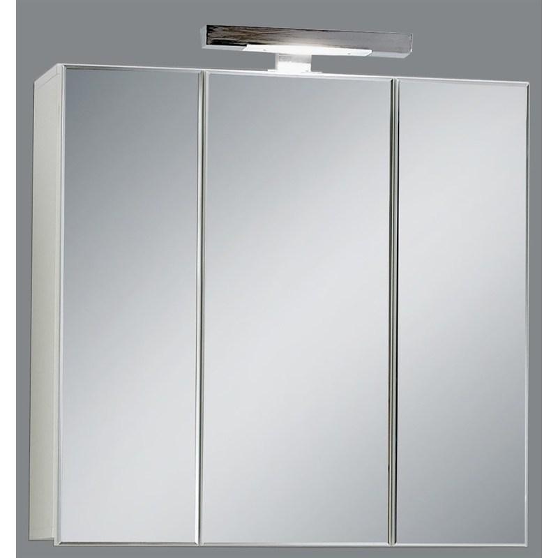Miroir De Salle De Bains Avec Eclairage Swithome Zamora Blanc 925 003 Blanc