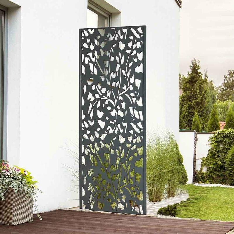 panneau decoratif exterieur metal 160 x 60 cm