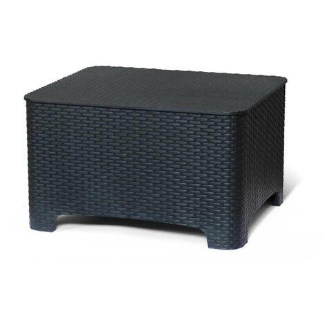 petite table boite de stockage pour les coussins de jardin et exterieur bars raffaello