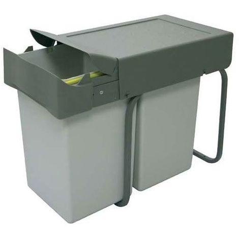poubelle de cuisine 2 bacs a prix mini