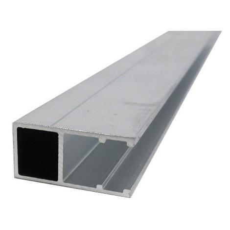 Profil Bordure Monobloc En U Toiture Polycarbonate Coloris Aluminium Epaisseur 16 Mm Longueur 3 M 5463501