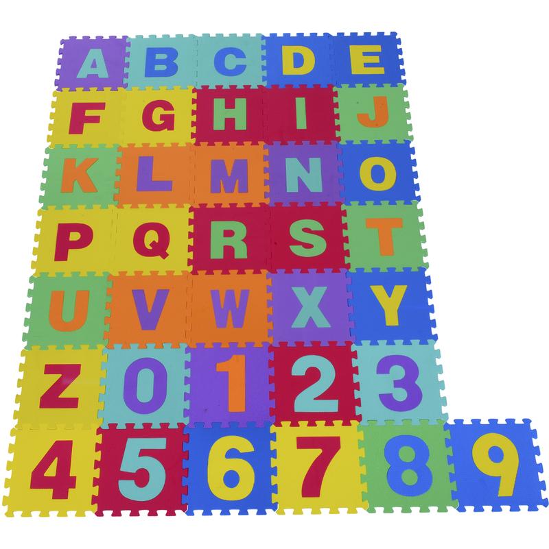 36 tapis de jeu puzzle mousse souple