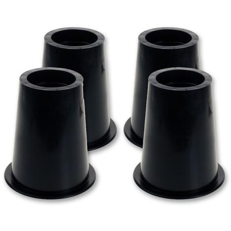 zeagro lot de 4 rehausseurs ronds pour