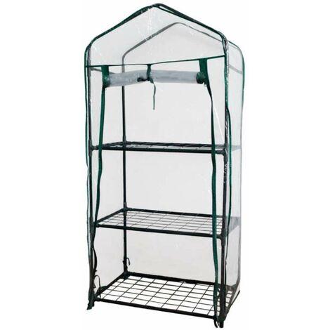 serre de jardin housse transparente 3 niveaux