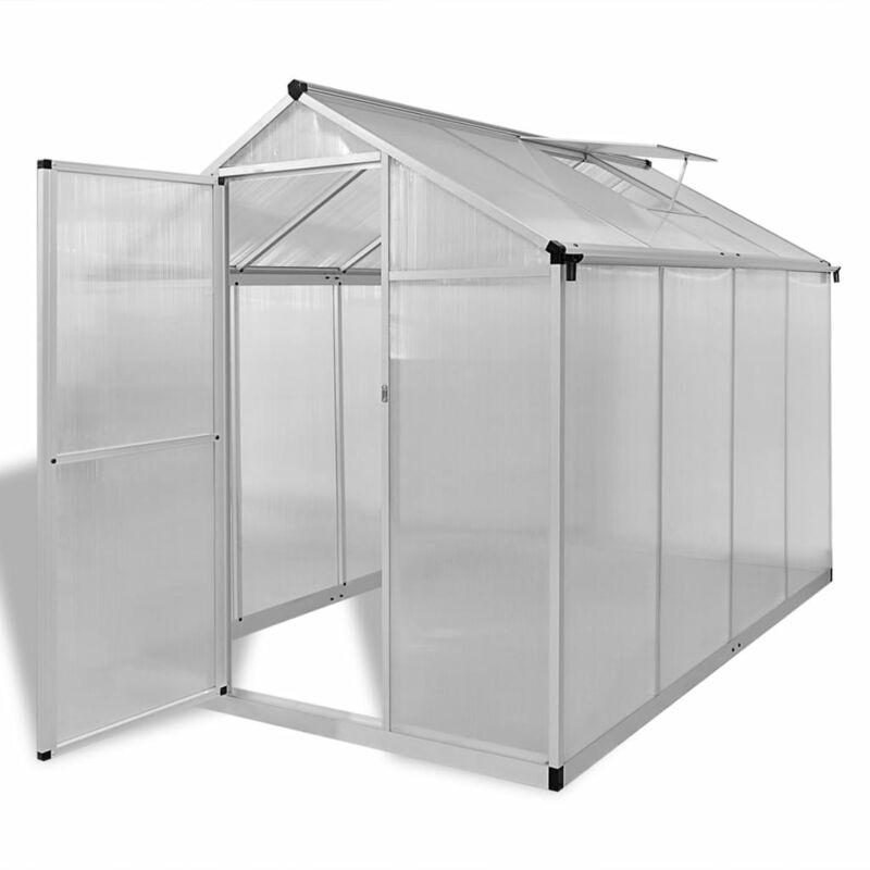 serre renforcee en aluminium avec bati integre serre de jardin abri plante