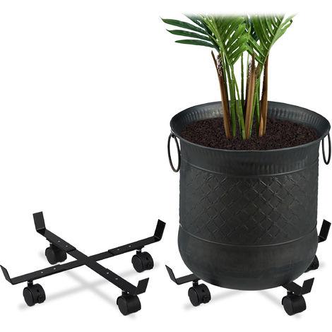 porte plante roulette a prix mini