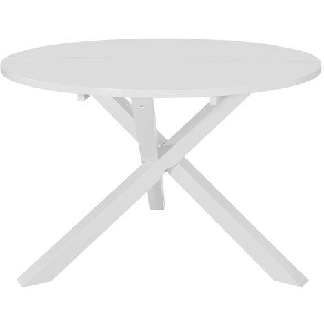table salle a manger blanche a prix mini