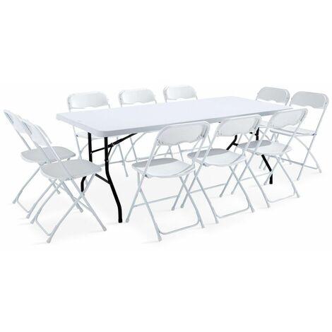 table et chaises pliantes a prix mini