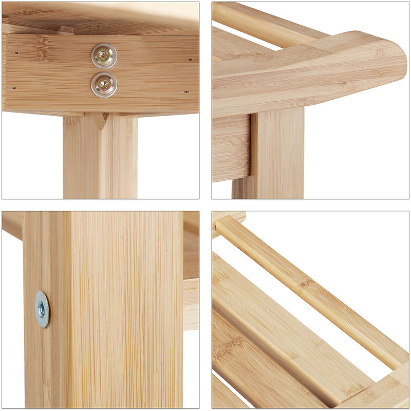 bambou naturel ergonomie banc