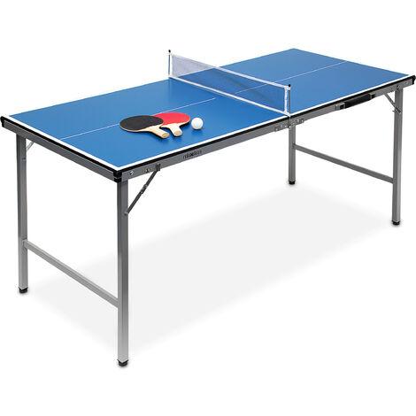 Tavolo Ping Pong Indoor Blu Misure 150 X 67 X 71 Cm