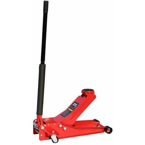 Varan Motors Neufj 03 Cric Hydraulique Roulant Extra Plat 3 Tonnes 75 505mm