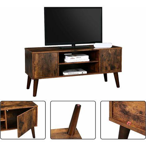 50cm blanc soges bancs tv meuble tv