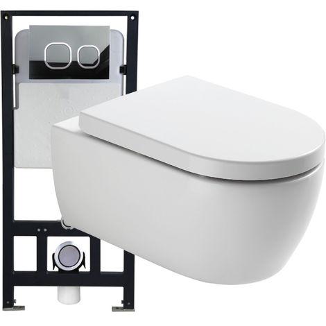 plaque de commande wc suspendu a prix mini