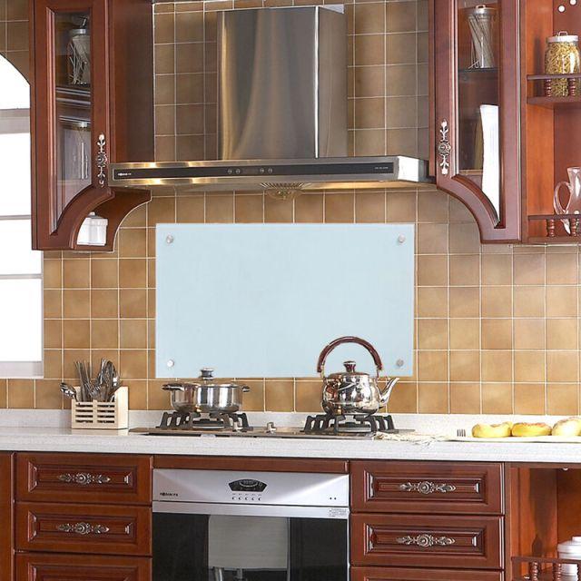 wolketon Küchenrückwand Spritzschutz Glas Klarglas ...