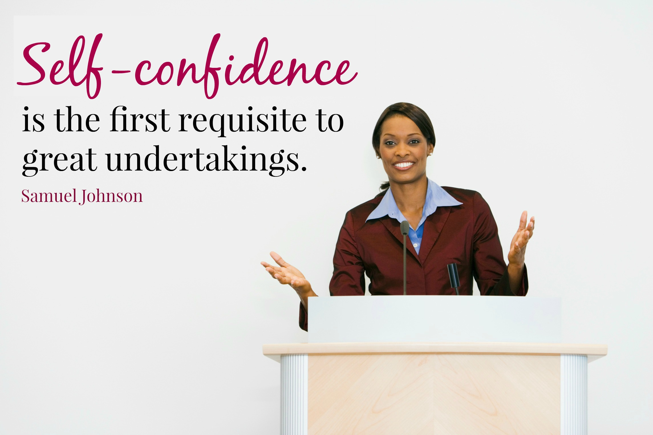 Gain Confidence As A Presenter