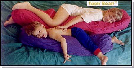 teen bean body pillow cover 54 x9 burgundy hypo allergenic