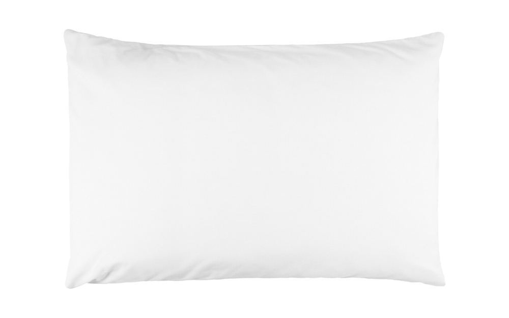 percale extra large pillowcase pair standard pillow size white