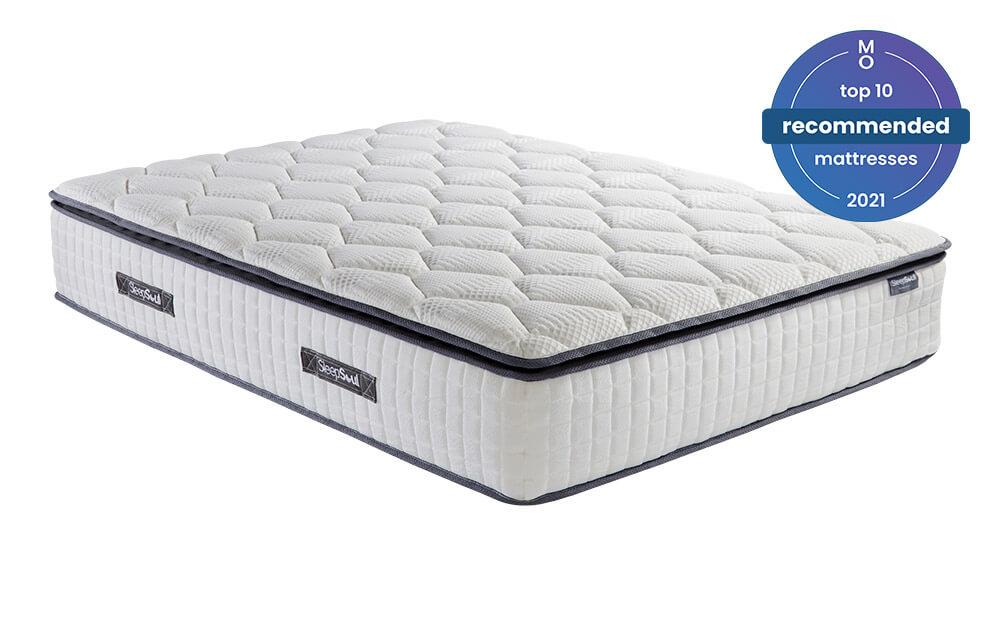sleepsoul bliss 800 pocket memory pillow top mattress single