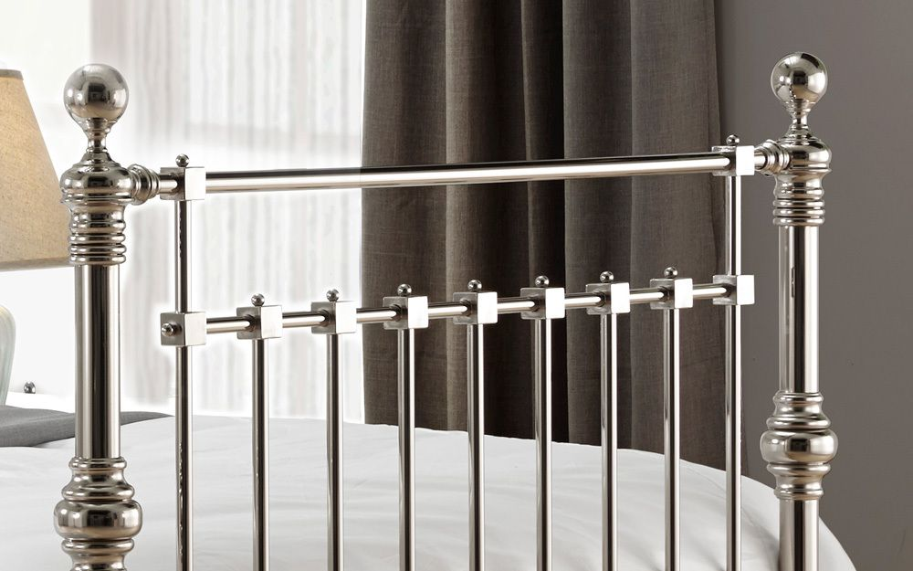 Time Living Edward Metal Bed Frame Mattress Online