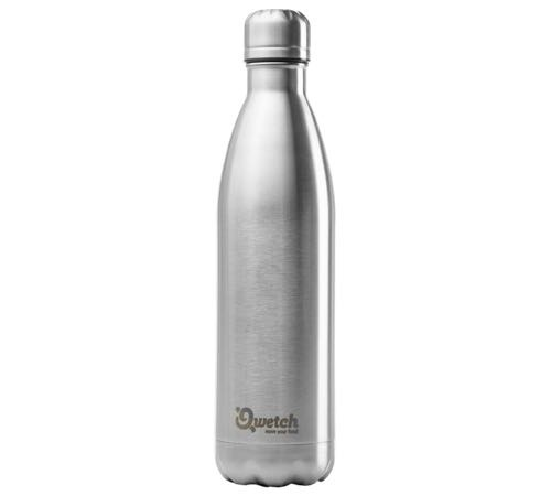 bouteille isotherme inox brosse 75 cl originals qwetch