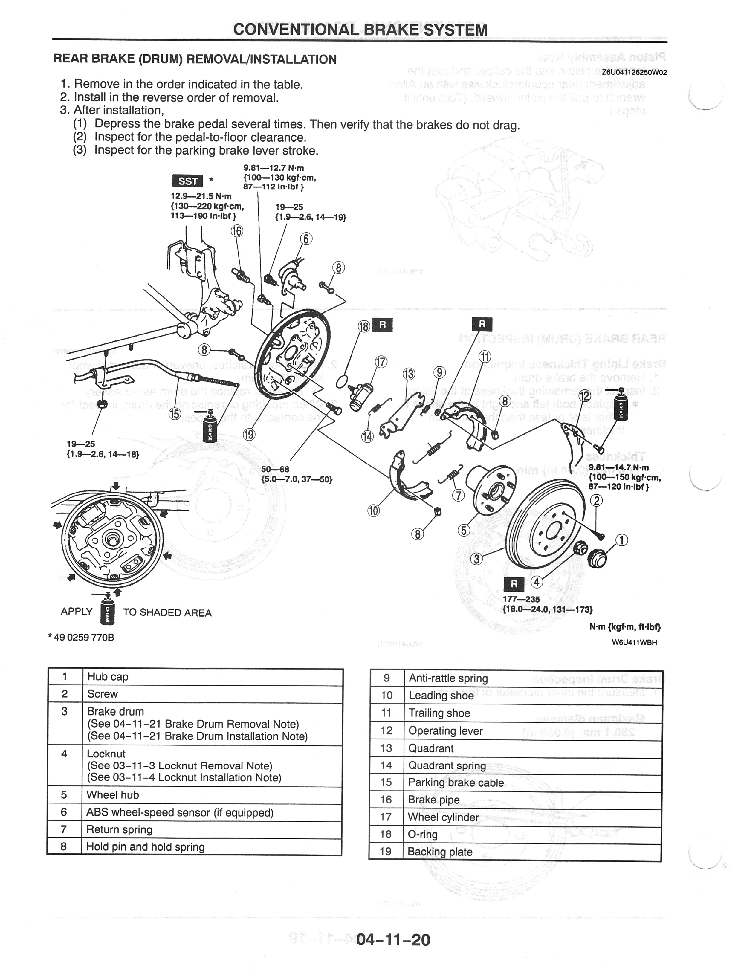 Diagram Anywhere For Rear Drums