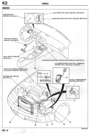 Where Is The Ecu On The Mazda 626 (4Cyl)  19932002 (2L) I4  Mazda626 Forums