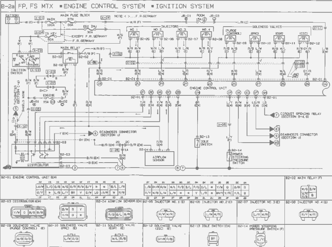 mazda 626 wiring diagram hvac  wiring diagram solidtools