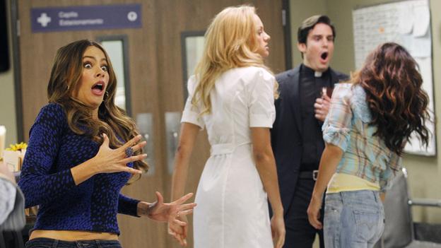Gloria and the Spanish soap opera