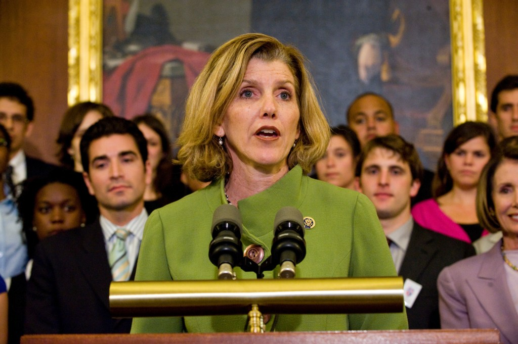 Former Rep. Kathy Dahlkemper lost the support of anti-abortion groups for voting for the 2010 health care law. (Photo by Scott J. Ferrell/Congressional Quarterly)
