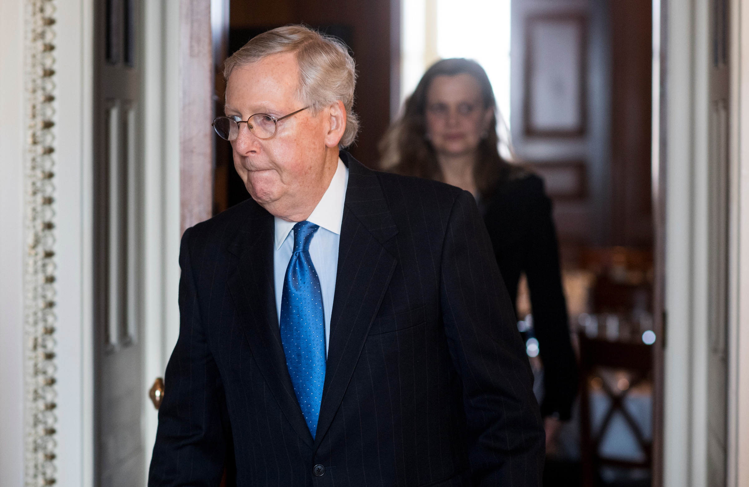 Opinion The Gop S Big Health Care Winner Mitch Mcconnell Roll Call