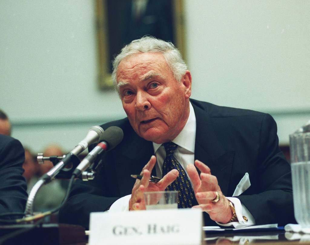 Alexander Haig (CQ Roll Call Archive Photo)