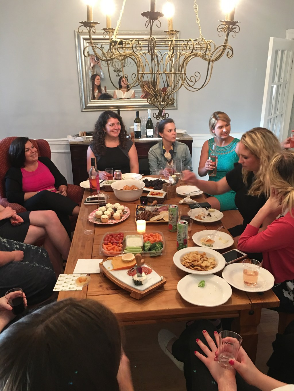 About 80 percent of the women who attended the Aug. 9 book club were congressional staffers. (Courtesy Tess Glancey)