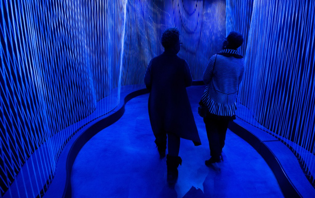 UNITED STATES - NOVEMBER 15: Visitors walk through the Journey Through The Hebrew Bible area of the Museum of the Bible on Wednesday, Nov. 15, 2017. (Photo By Bill Clark/CQ Roll Call)