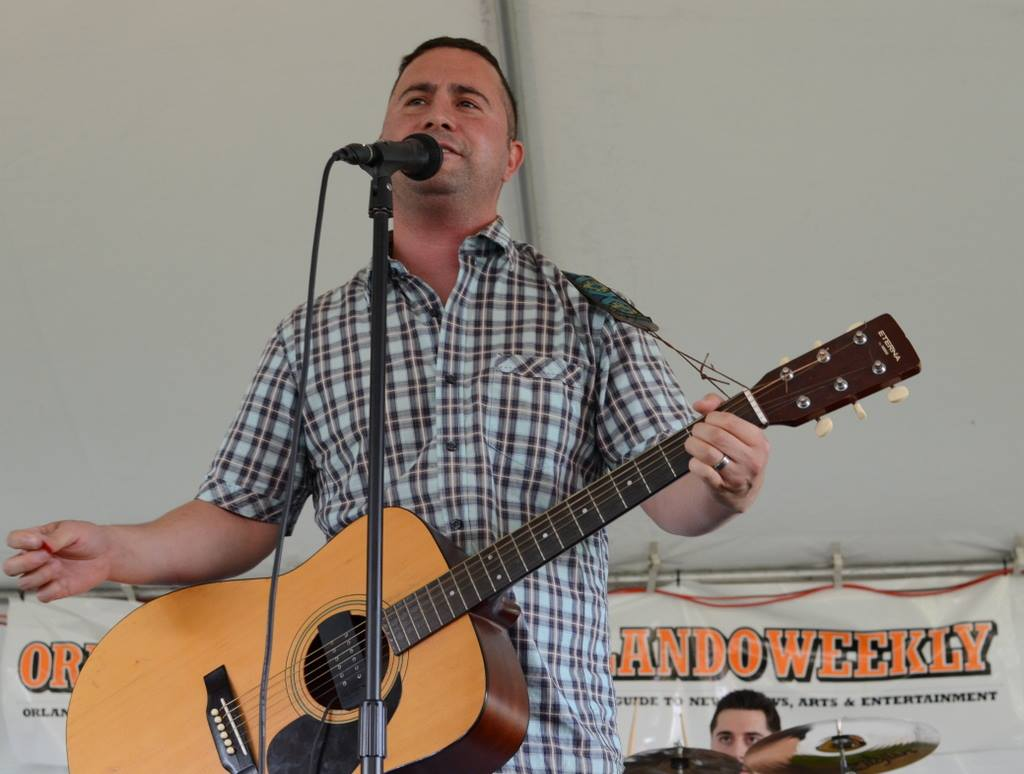 Rep. Darren Soto, D-Fla., plays with his band, the Orange Creek Riders. (Courtesy of Soto)