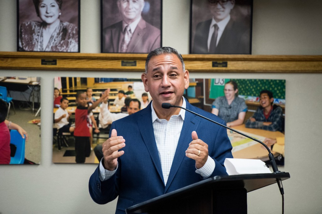 Gill Cisneros is the likely Democratic candidate in the 39th District. (Bill Clark/CQ Roll Call)
