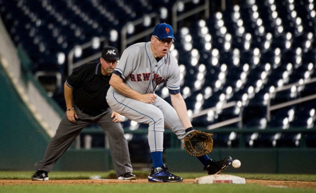 Out at home. Joe Crowley's primary loss to Alexandria Ocasio-Cortez stunned Democrats Tuesday night. It also means Democrats are losing another member of their baseball team. (Bill Clark/CQ Roll Call file photo)