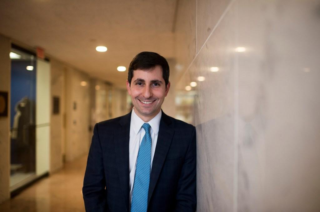 Matt Klapper became Sen. Cory Booker's, D-N.J., chief of staff at 31., (Bill Clark/CQ Roll Call)