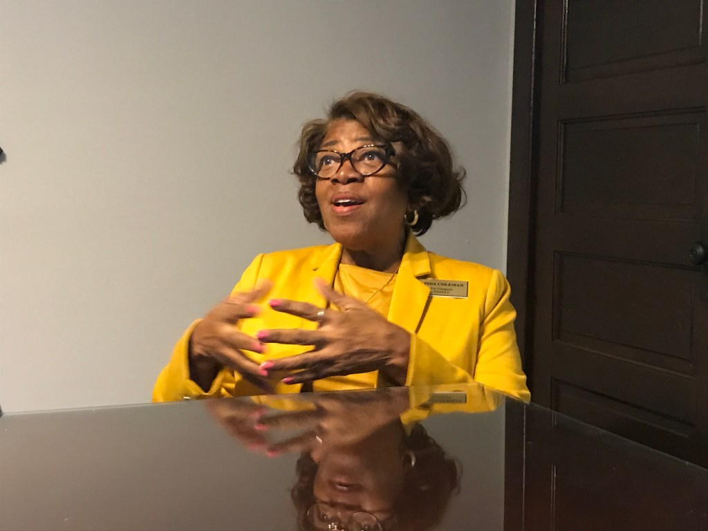 Democrat Linda Coleman has name recognition in the district since she's previously represented the area and run statewide (Simone Pathe/CQ Roll Call)