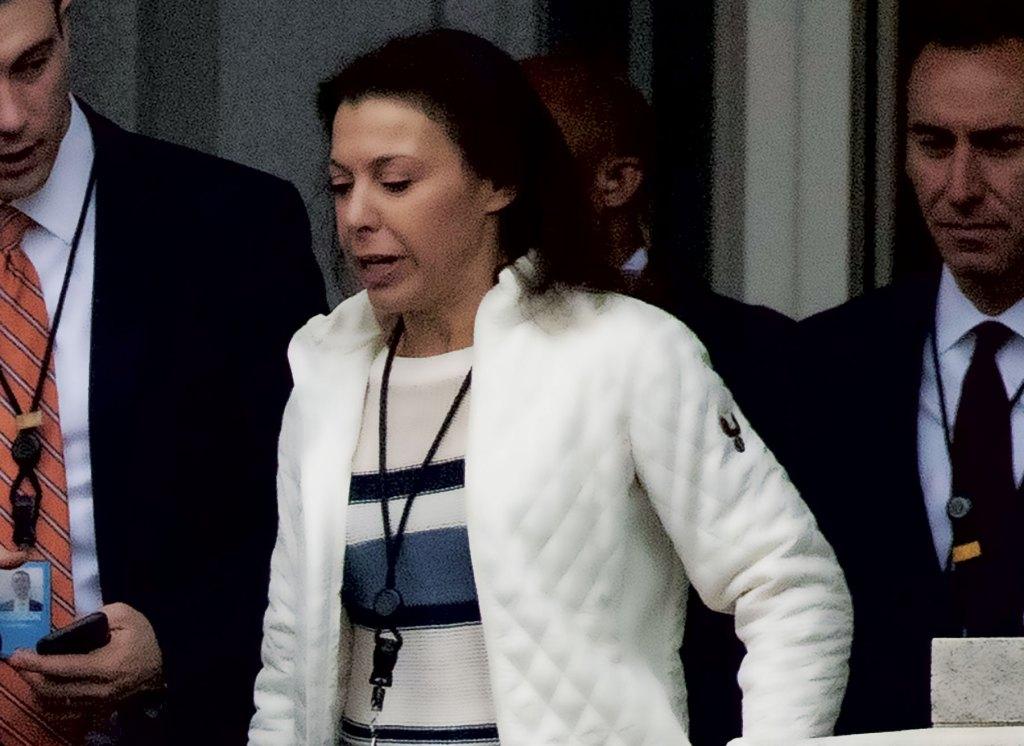 Shahira Knight serves at the White House's chief liaison to Capitol Hill. (Alex Brandon/AP file photo)