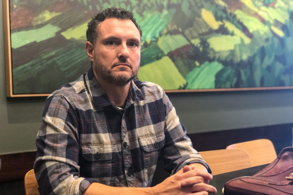 In September, Charles Wilcoxen was hospitalized for three days with a severe respiratory illness after vaping cannabis cartridges he bought at a legal shop. He's now suing a handful of manufacturers and distributors of the products.