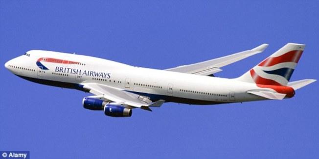 英國航空公司機師布朗曾駕駛同型的747飛機。(取自網路)