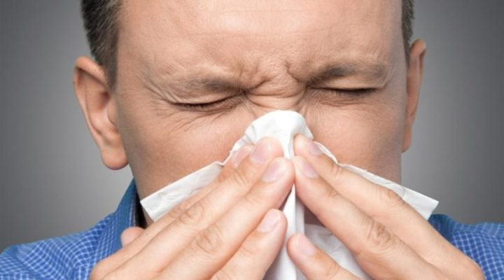Runny Nose With Sneezing And Watery Eyes