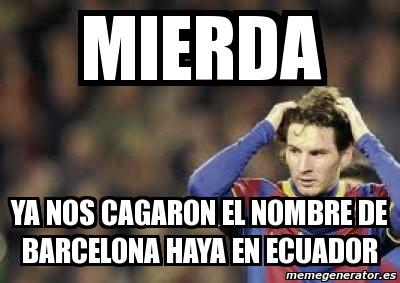 Iop Te Lo Digop Barcelona El Mejor Equipo Del Ecuador