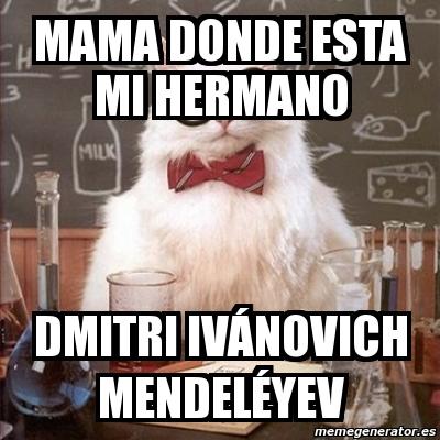 Best 30 Dmitri Mendeleev Fun On 9gag