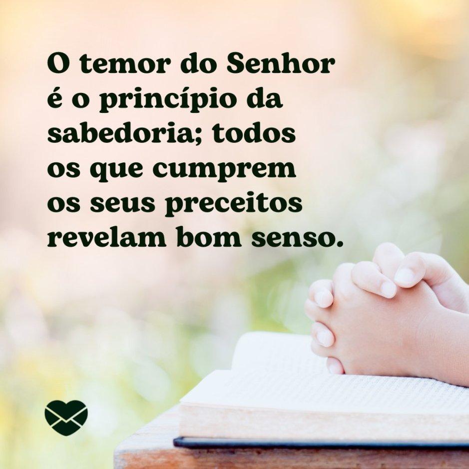 Temor Do Senhor Salmos 111 10 B 237 Blicas