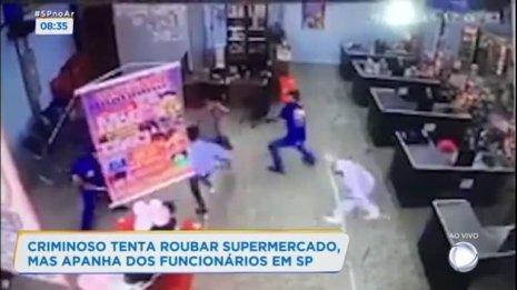 3. Tentou assaltar o supermercado e acabou apanhando - Crimes que deram errado - Listas e curiosidades