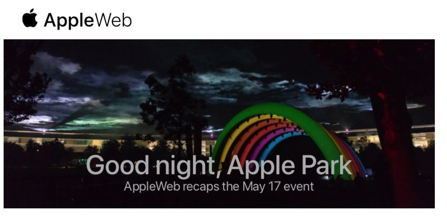 Apple Park: the summary & # 39