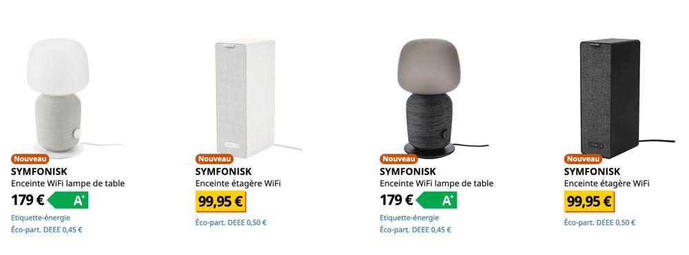Les Enceintes Symfonisk Sont En Vente Dans Les Magasins Ikea
